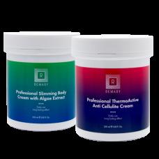 Kit profesional mic anti celulita, slabire si anti vergeturi - Sets - Remary - 2 produse cu 50% discount