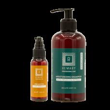 Set hidratant pentru păr cu extract din ulei de argan - Hidration - Remary - 2 produse