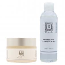 Set profesional pentru albire și depigmentare - Skin Care - Remary - 2 produse