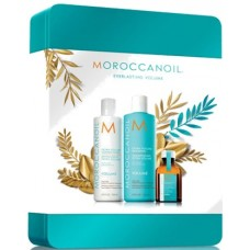 Kit de volum pentru parul subtire si slabit - Volume Line - Moroccanoil - 4 produse cu 19.84% discount