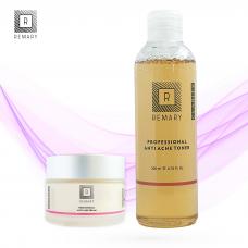 Set anti acnee profesional - Skin Care - Remary - 2 produse