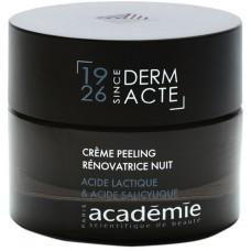 Crema cu acid lactic si salicilic - Restorative Exfoliating Night Cream - Derm Acte IAR - Academie - 50 ml