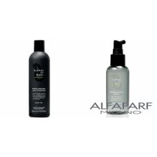 Kit anti-matreata si de control sebum pentru barbati - Blends of Many - Alfaparf Milano - 2 produse cu 5% discount