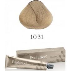 Vopsea permanenta profesionala - 10.31 - Evolution of the Color Cube - Alfaparf Milano - 60 ml