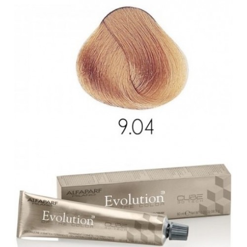 Vopsea Permanenta Profesionala - 9.04 - Evolution Of The Color Cube - Alfaparf Milano - 60 Ml
