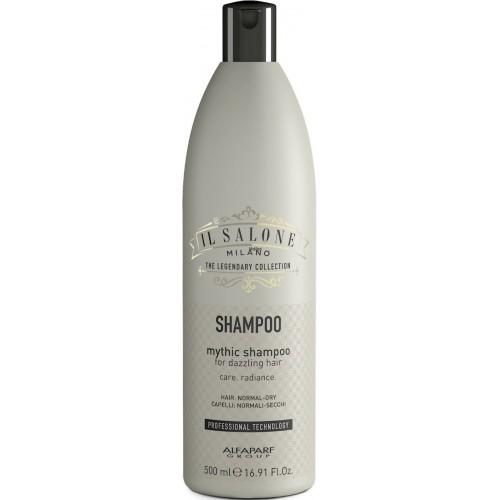 Sampon Pentru Par Normal Sau Uscat - Mythic Shampoo - Il Salone - Alfaparf Milano - 500 Ml