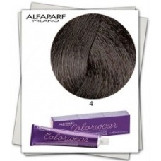 Vopsea semi-permanenta fara amoniac profesionala - 4 - Color Wear - Alfaparf Milano - 60 ml