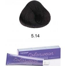 Vopsea semi-permanenta fara amoniac profesionala - 5.14 - Color Wear- Alfaparf Milano - 60 ml