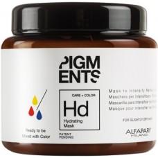 Masca hidratanta pentru amplificarea reflexiilor - Hydrating Mask - Pigments - Alfaparf - 200 ml
