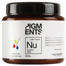 Masca nutritiva pentru amplificarea reflexiilor - Nutritive Mask - Pigments - Alfaparf - 200 ml