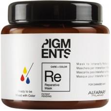 Masca reparatoare pentru amplificarea reflexiilor - Reparative Mask - Pigments - Alfaparf - 200 ml