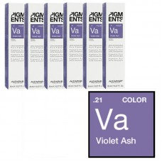 Pigment concentrat violet cenusiu - .21 Violet Ash - Ultra Concentrated Pure Pigment - Alfaparf Milano - 8 ml