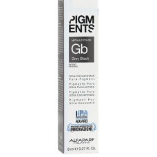 Pigment concentrat negru gri - Grey Black - Ultra Concentrated Pure Pigment - Alfaparf Milano - 8 ml