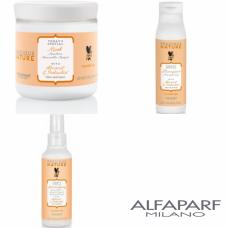 Kit mic pentru protectia culorii parului vopsit - Precious Nature - Colored Hair - Alfaparf Milano - 3 produse cu 25% discount