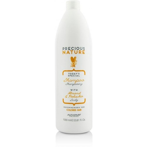 Sampon Pentru Protectia Culorii Parului Vopsit - Shampoo - Precious Nature - Colored Hair - Alfaparf Milano - 1000 Ml