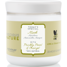 Masca de netezire pentru par drept - Mask - Precious Nature - Long & Straight Hair - Alfaparf Milano - 200 ml