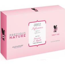 Tratament fiole pentru par uscat si insetat - Infusion - Precious Nature - Thirsty hair - Alfaparf Milano - 6 x 13 ml