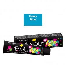 Crema de colorare directa - Direct Coloring Cream - Crazy Blue - Revolution Neon - Alfaparf Milano - 90 ml