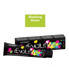Crema de colorare directa - Direct Coloring Cream - Shocking Green - Revolution Neon - Alfaparf Milano - 90 ml