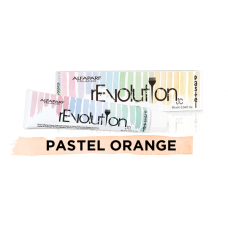 Crema de colorare directa - Direct Coloring Cream - Pastel Orange - Revolution Pastel - Alfaparf Milano - 90 ml