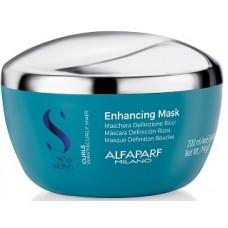 Masca pentru par cret - Curls Enhancing Mask - Semi Di Lino - Curls - Alfaparf Milano - 200 ml