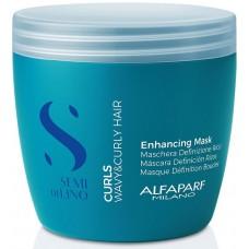Masca pentru par cret - Curls Enhancing Mask - Semi Di Lino - Curls - Alfaparf Milano - 500 ml
