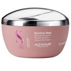 Masca intens hidratanta pentru par uscat - Nutritive Mask - Semi Di Lino - Moisture - Alfaparf Milano - 200 ml