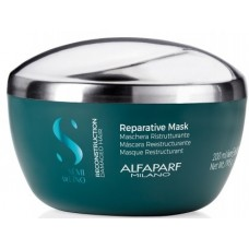 Masca de reconstructie pentru parul degradat - Reparative Mask - Semi Di Lino - Reconstruction - Alfaparf Milano - 200 ml