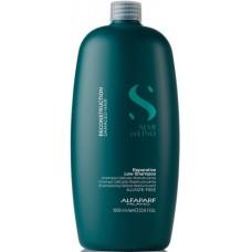 Sampon de reconstructie pentru parul degradat - Reparative Shampoo - Semi Di Lino - Reconstruction  - Alfaparf Milano - 1000 ml