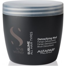 Namol detoxifiant pentru purificarea parului si scalpului - Detoxifying Mud - Semi di Lino - Sublime - All Hair Types - Alfaparf Milano - 500 ml