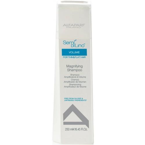 Sampon Pentru Volum - Volume Magnifying Shampoo - Semi Di Lino - Alfaparf Milano - 250 Ml