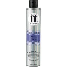 Sampon pigmentat anti-ingalbenire pentru par alb sau blond rece - Never Brass - That's It - Alfaparf Milano - 250 ml