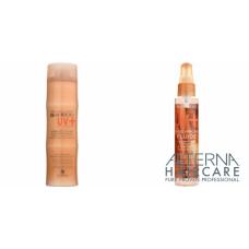 Kit pentru par vopsit - sampon + spray - BAMBOO UV+ - Alterna - 2 produse cu 40% discount