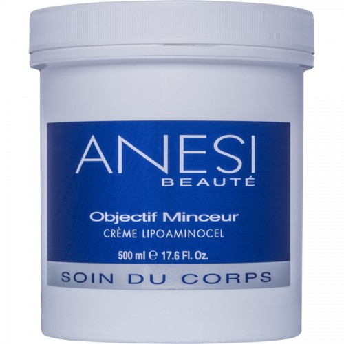 Crema Termoactiva - Lipoaminocel Objectif Minceur - Anesi - 500 Ml