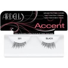 Gene false pentru alungire si indesire - Accent - Ardell - 301 Black
