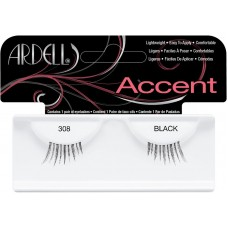 Gene false pentru alungire si indesire - Accent - Ardell - 308 Black