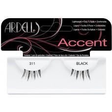 Gene false pentru alungire si indesire - Accent - Ardell - 311 Black
