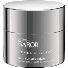 Crema antioxidanta si revitalizanta - Detox Vitamin Cream - Refine Cellular - Doctor Babor - Babor - 50 ml