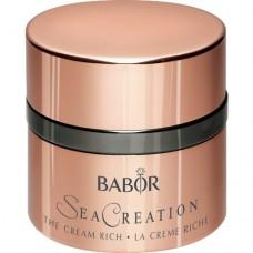 Crema antirid luxurianta cu extract de caviar verde - The Cream Rich - Seacreation - Babor - 50 ml