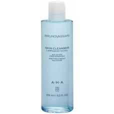 Lotiune demachianta cu acid glicolic - AHA - Skin Cleanser - Bruno Vassari - 250 ml
