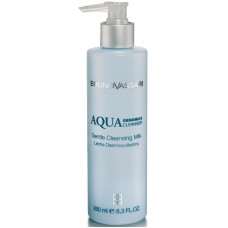 Lapte demachiant cu Acid Hialuronic pentru hidratare intensa - Aqua Genomics Cleansing - Bruno Vassari - 250 ml