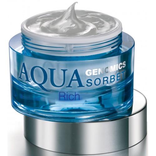 Crema Hidratanta - Aqua Genomics Sorbet - Rich - Bruno Vassari - 50 Ml