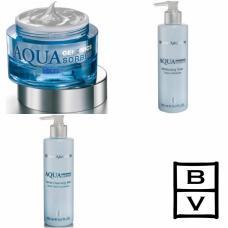 Kit intens hidratant pentru ten uscat sau deshidratat - Aqua Genomics - Bruno Vassari - 3 produse cu 7% discount
