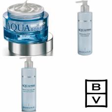 Kit intens hidratant pentru ten normal sau mixt - Aqua Genomics - Bruno Vassari - 3 produse cu 7% discount