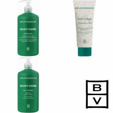 Kit mare pentru exfolierea, curatarea si hidratarea pielii - Body Care - Bruno Vassari - 3 produse cu 7% discount