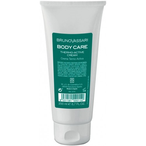 Crema Termoactiva Pentru Slabire - Thermo-activ Cream - Bruno Vassari - 200 Ml