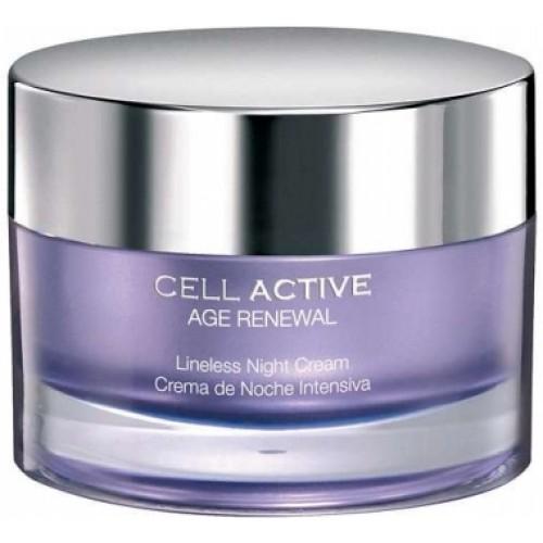 Crema Anti-rid Cu Celule Stem - Cell Active Age Renewal - Lineless Night Cream - Bruno Vassari - 50 Ml