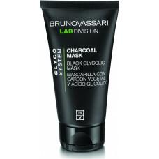 Masca neagra cu carbune si acid glicolic - Charcoal Mask - Glyco System - Lab Division - Bruno Vassari - 65 g