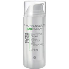 Crema de zi hidratanta cu SPF 25 - Protective Cream - Glyco System - Bruno Vassari - 50 ml