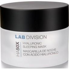Masca de noapte pentru ten cu acid hialuronic - Hyaluronic Sleeping Mask - HA50X - Bruno Vassari - 50 ml